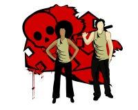 Misdadigers Stock Foto's