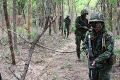 Mise à feu de réservoir d'armée photo libre de droits