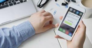 Mise à jour du logiciel système de smartphone banque de vidéos