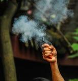 Mise en marche de l'arme à feu Photos libres de droits