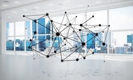 Mise en réseau et connexion sans fil comme concept pour des affaires modernes efficaces Photo libre de droits