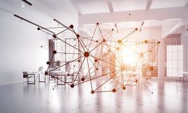 Mise en réseau et connexion sans fil comme concept pour des affaires modernes efficaces Photographie stock libre de droits
