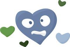 Miserable Heart Symbol Royalty Free Stock Photography