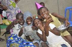 MISERIA DELL'AFRICA Immagini Stock Libere da Diritti