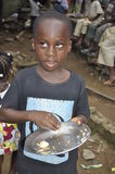 MISERIA DELL'AFRICA Fotografie Stock