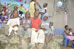MISERIA DELL'AFRICA Fotografia Stock