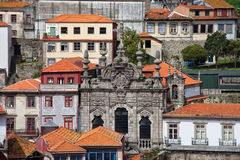 Misericordia Church in the Old Town of Porto in Portugal Royalty Free Stock Photography