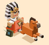 Miserly of ramses chase Royalty Free Stock Images