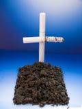 Mises à mort de fumage Photos stock