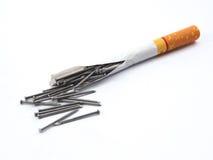 Mises à mort de tabagisme. Photo stock