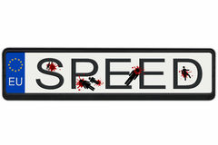 Mises à mort de vitesse Images libres de droits