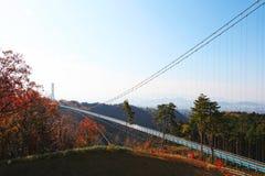 MISHIMA SKYWALK, JAPAN stockbild