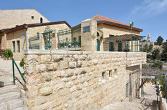Mishkenot Shaananim in Jerusalem, Israel Royalty Free Stock Photography