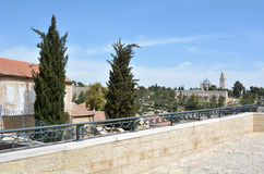 Mishkenot Shaananim in Jerusalem, Israel Royalty Free Stock Images