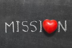 misión Foto de archivo libre de regalías