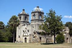 Misión Concepción, San Antonio, Tejas, los E.E.U.U. Foto de archivo libre de regalías