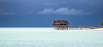 Misión de la isla de Kiribati en el verano de 2016 Foto de archivo libre de regalías