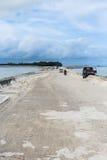 Misión de la isla de Kiribati en el verano de 2016 Fotografía de archivo libre de regalías