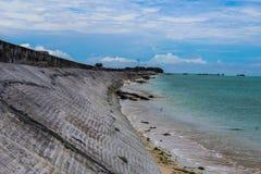 Misión de la isla de Kiribati en el verano de 2016 Fotos de archivo libres de regalías