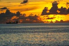 Misión de la isla de Nauru en el verano de 2016 Imágenes de archivo libres de regalías