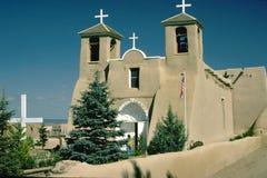 Misión de New México Imagenes de archivo