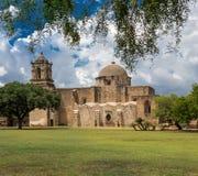 Misión de San Jose en San Antonio Tejas Imagen de archivo