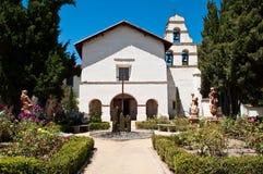 Misión de San Juan Batista California Foto de archivo libre de regalías