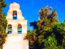 Misión en California septentrional Foto de archivo libre de regalías