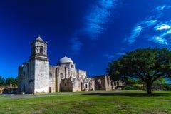 Misión española de San Jose, TX Foto de archivo