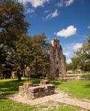 Misión Espada de San Antonio en Tejas Foto de archivo libre de regalías