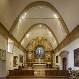 Misión San Carlos Borroméo del río Carmelo Imagen de archivo libre de regalías