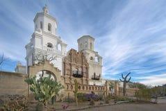 Misión San Javier del Bac Imágenes de archivo libres de regalías