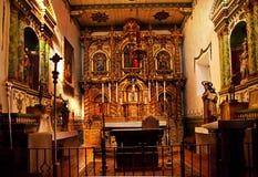 Misión San Juan Capistrano de la capilla de Serra Fotos de archivo