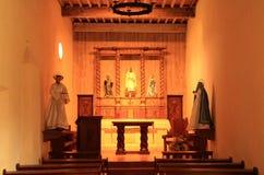 Misión San Juan Interior fotografía de archivo