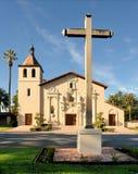 Misión Santa Clara fotos de archivo