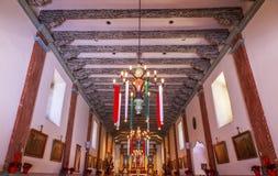 Misi San Buenaventura święto bożęgo narodzenia Ventura Kalifornia Zdjęcie Stock