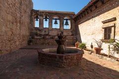 Misi San Juan Capistrano dzwony Zdjęcia Stock