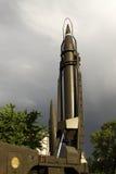 Misil balístico foto de archivo