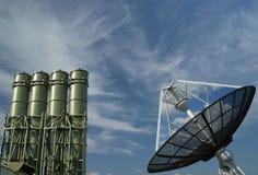 Misiles antiaéreos rusos modernos Foto de archivo