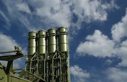 Misiles antiaéreos rusos modernos Imagenes de archivo