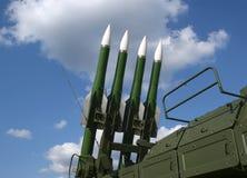 Misiles antiaéreos rusos modernos Fotos de archivo libres de regalías