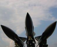 Misiles - armas de la destrucción total (wmd) Fotos de archivo libres de regalías