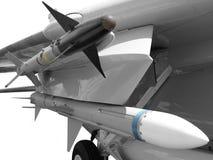 Misiles de ataque Fotografía de archivo