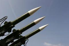 Misiles militares Fotos de archivo libres de regalías