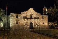 Misión de Álamo en San Antonio Foto de archivo libre de regalías