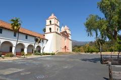 Misión Santa Barbara Plaza Foto de archivo libre de regalías