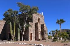 Mision Santa Rosalia De Mulege, Baj Kalifornia fotografia stock