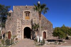 Mision Santa Rosalia de Mulege, Baja California Imágenes de archivo libres de regalías