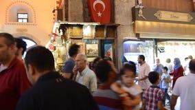 Misir Carsisi Eminonu Ä°stanbul die Türkei stock video
