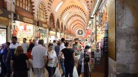 Misir Carsisi Eminonu Ä°stanbul die Türkei stock footage